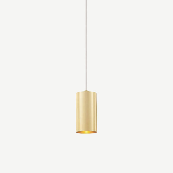 Pendant lamp TUUB 110 mm with GU10 fitting - gold