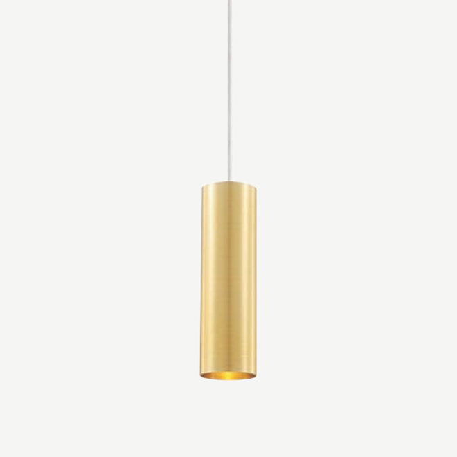 Pendant lamp TUUB 200 mm with GU10 fitting - gold