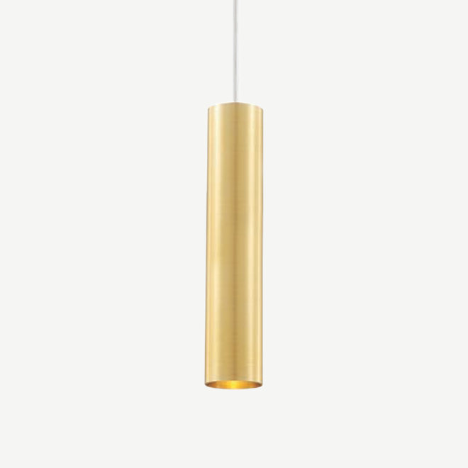 Pendant lamp TUUB 300 mm with GU10 fitting - gold