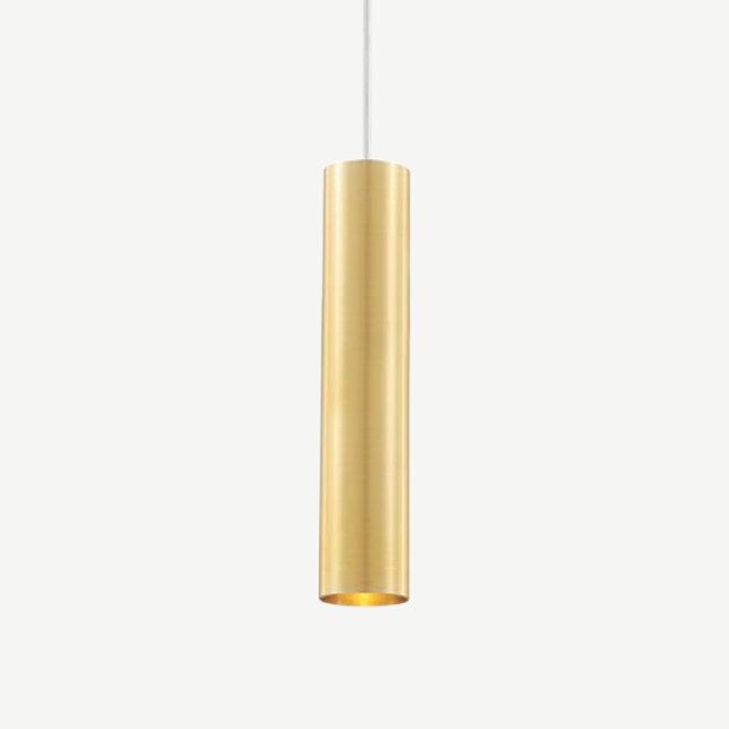 Hanglamp TUUB 300 mm met GU10 fitting - goud