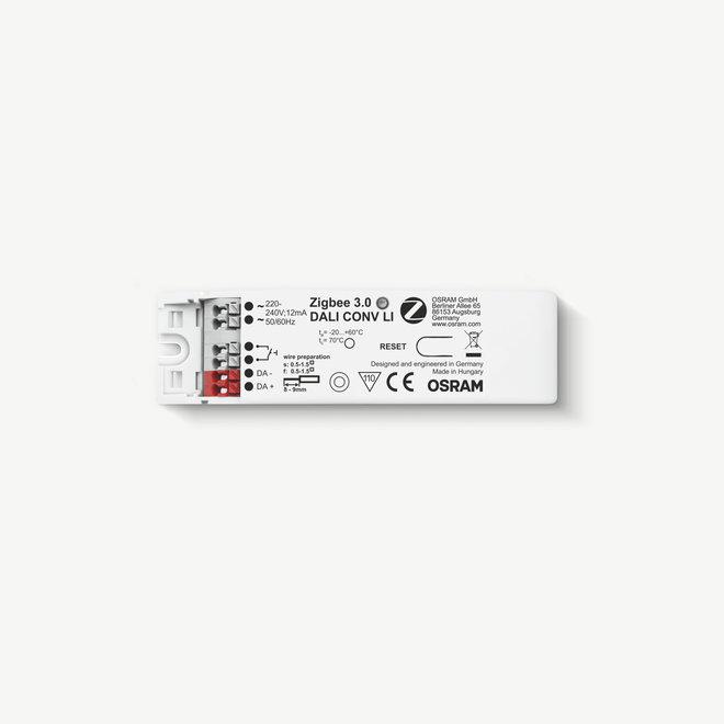 CLIXX magnetisch rail verlichtingssysteem accessoires  - Osram Zigbee 3.0 Dali converter