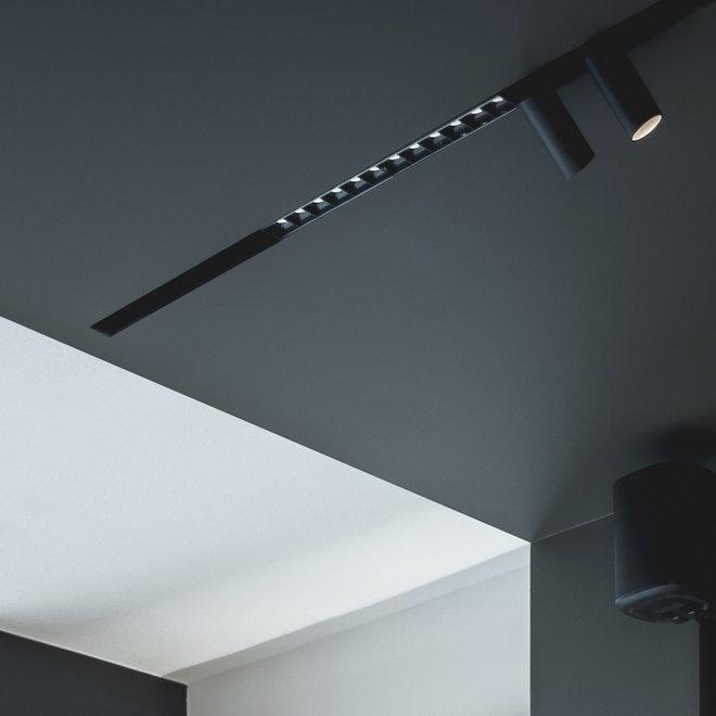 CLIXX magnetisch rail verlichtingssysteem - DOT12 LED module - zwart