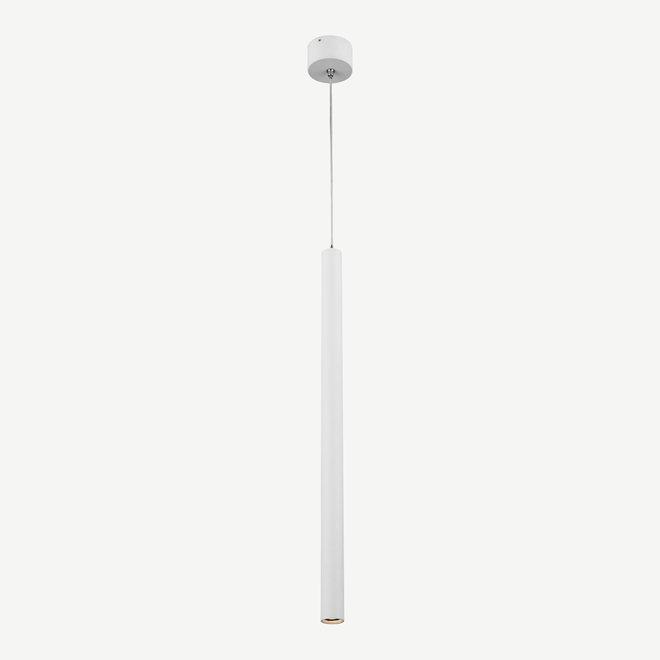 Moderne LED hanglamp SLIM rond 500 mm - wit