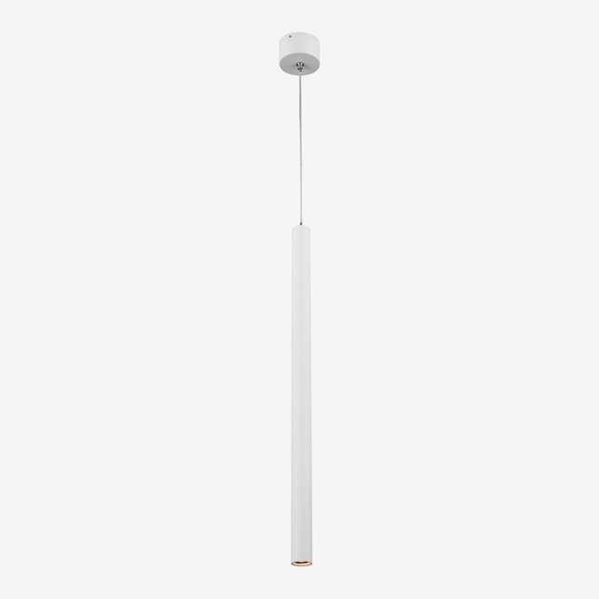 STIXX SLIM moderne LED hanglamp rond 500 mm - wit