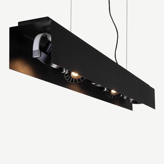 Modern LED pendant HYDE big 1350 mm - black