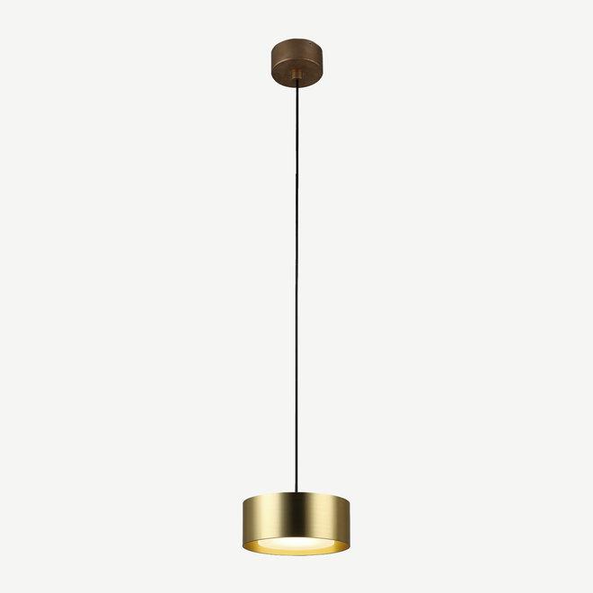 LED pendant lamp DISC ø148 mm - gold