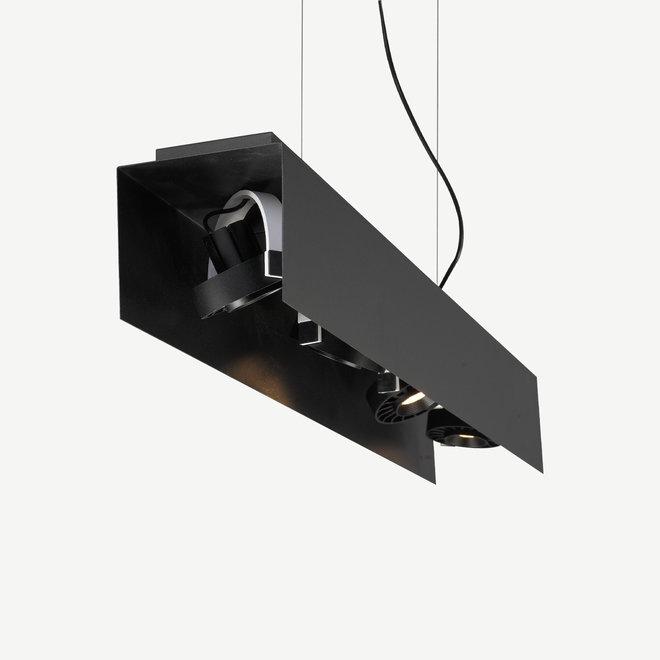 Moderne LED hanglamp HYDE 890 mm - zwart