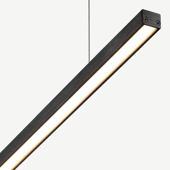 Modern LED pendant Linear Slim 1170 mm - black