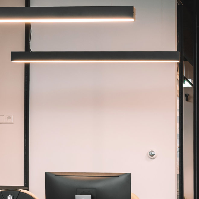Modern LED pendant LINE 1200 mm - black