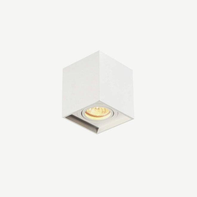 Design ceiling spot BOXX white single GU10