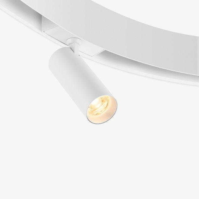 CLIXX CURVE magnetic track light system - SPOT35 LED module - white