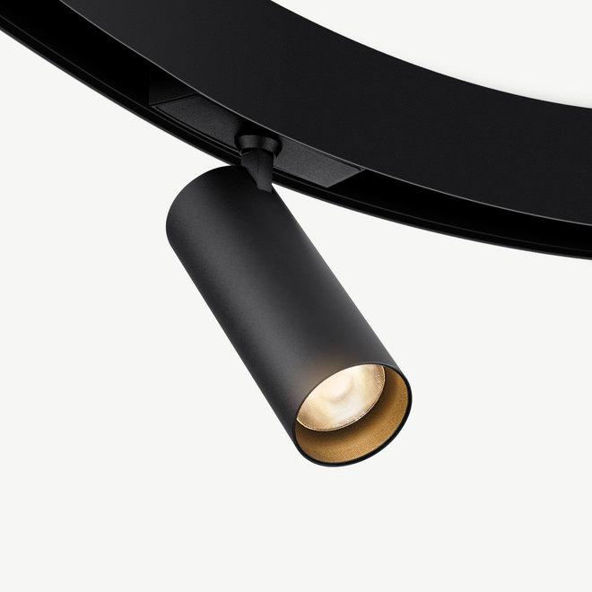 CLIXX CURVE magnetische LED module SPOT50 - zwart