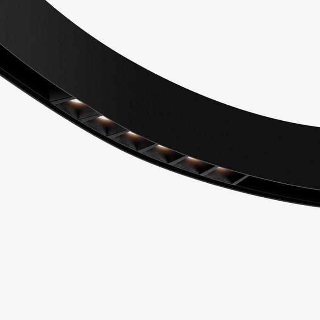 CLIXX CURVE magnetisch rail verlichtingssysteem - DOT06 LED module  - zwart