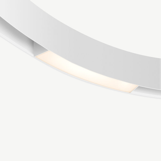 CLIXX CURVE magnetic track light system - LINE16 LED module - white