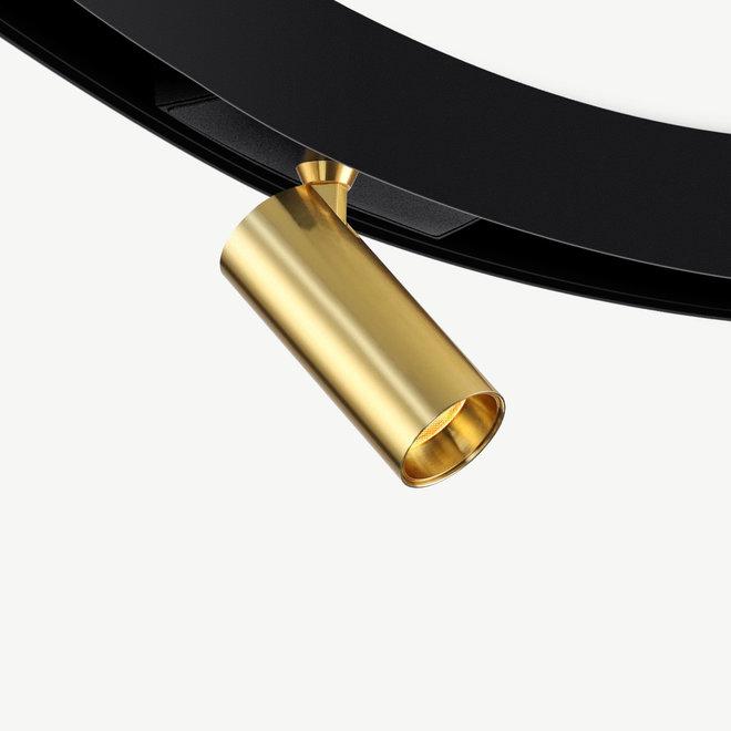 CLIXX CURVE magnetic LED module SPOT35  - gold