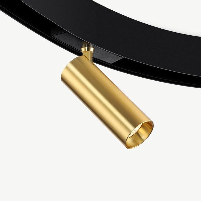 CLIXX CURVE magnetisch rail verlichtingssysteem - SPOT50 LED module  - goud
