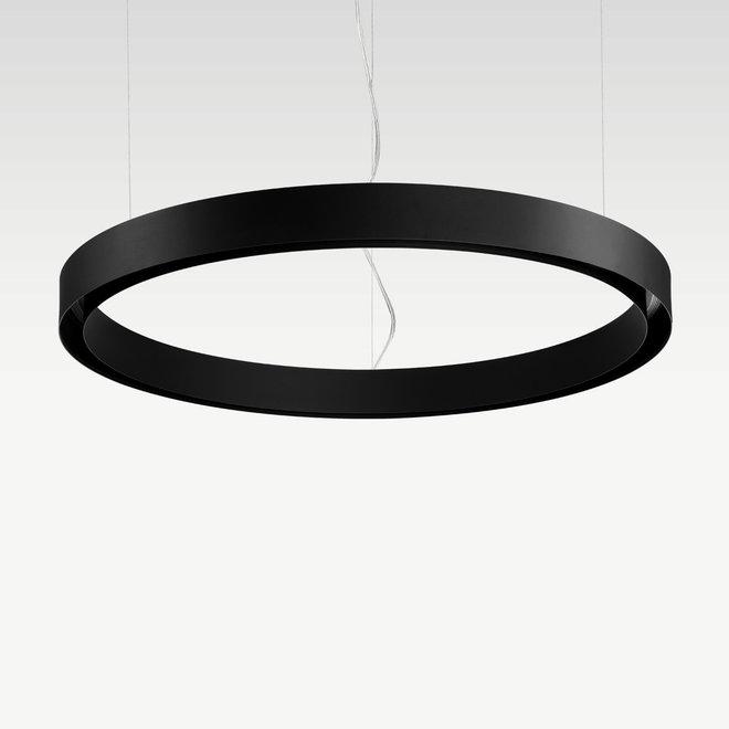 CLIXX CURVE magnetisch rail verlichtingssysteem - CIRCLE pendel profiel - zwart