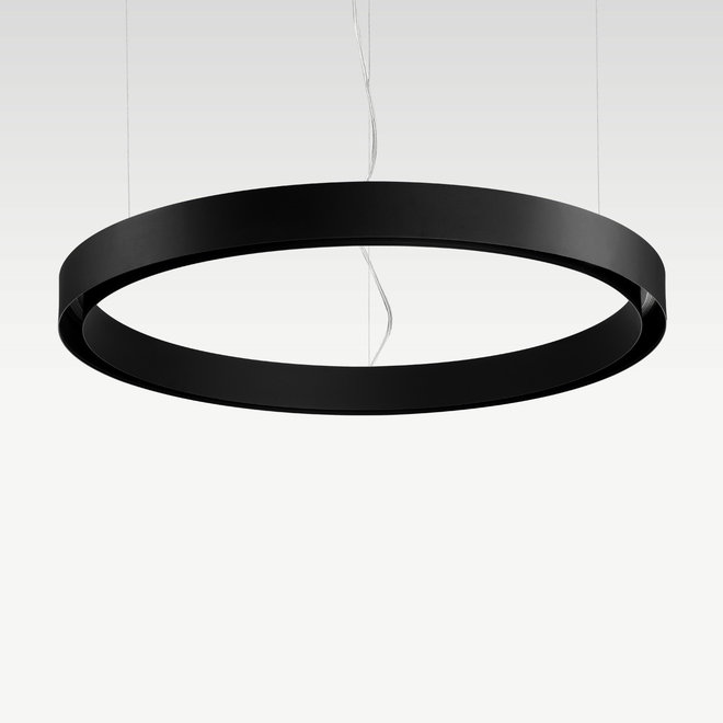 CLIXX CURVE magnetic tracks - CIRCLE pendant profile - black