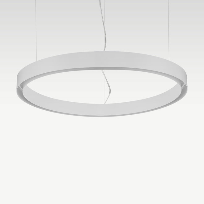 CLIXX CURVE magnetisch rail verlichtingssysteem - CIRCLE pendel profiel - wit