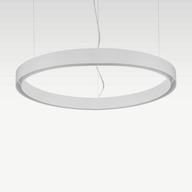 CLIXX CURVE magnetic tracks - CIRCLE pendant profile - white