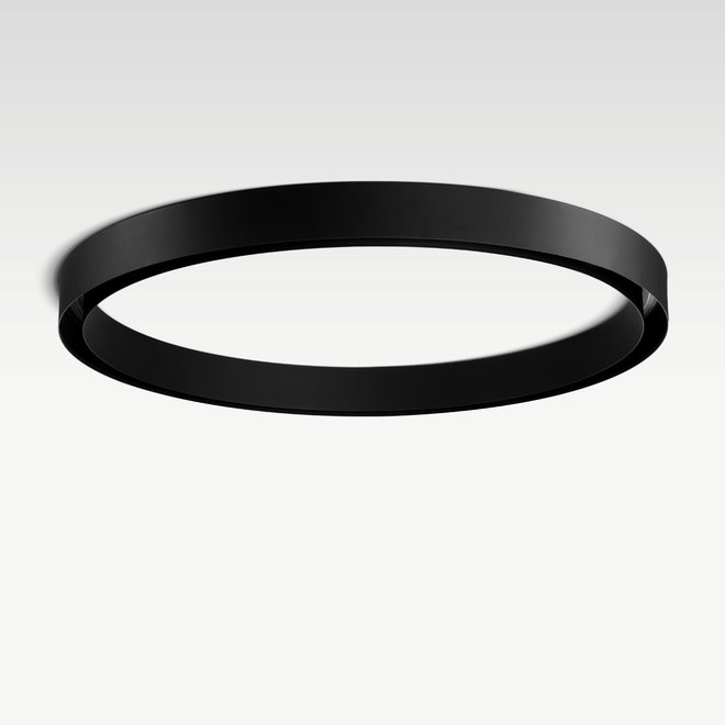 CLIXX CURVE magnetic track light system - CIRCLE surface profile - black