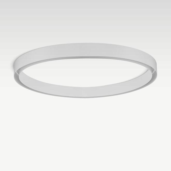 CLIXX CURVE magnetisch rail verlichtingssysteem - CIRCLE opbouw profiel - wit