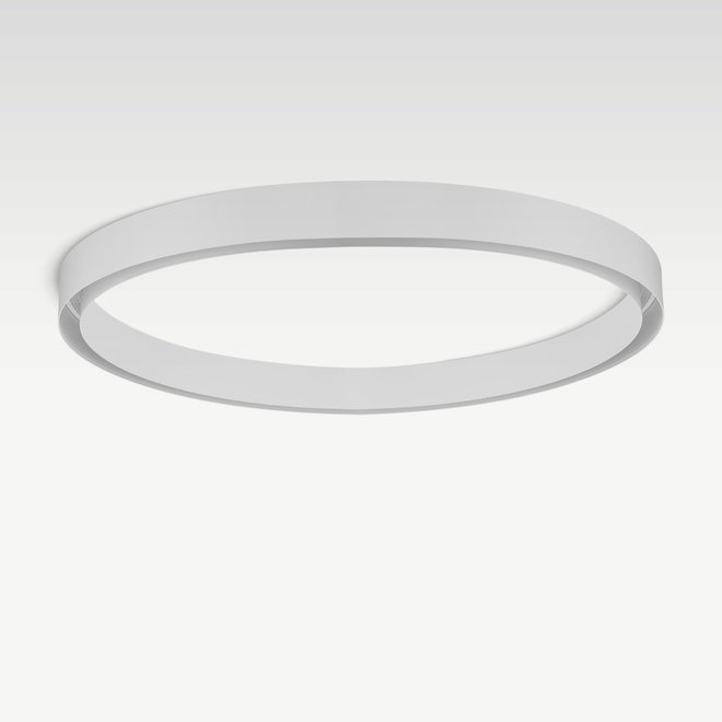 CLIXX CURVE magnetische tracks - CIRCLE opbouw profiel  - wit