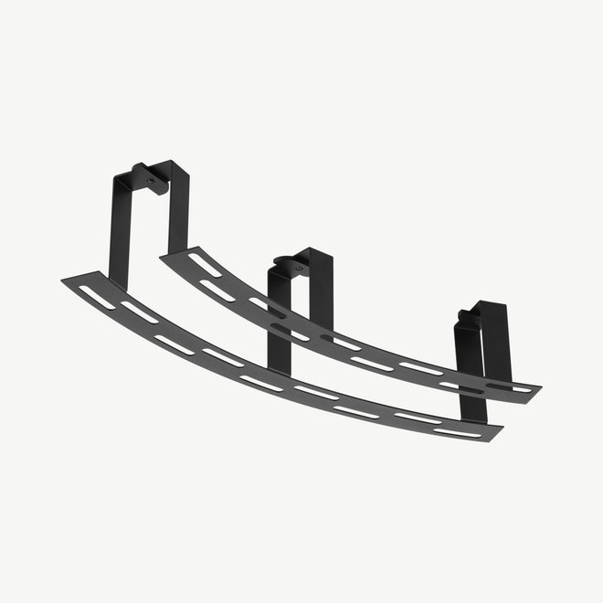 CLIXX CURVE magnetic track accessories - recessed kit