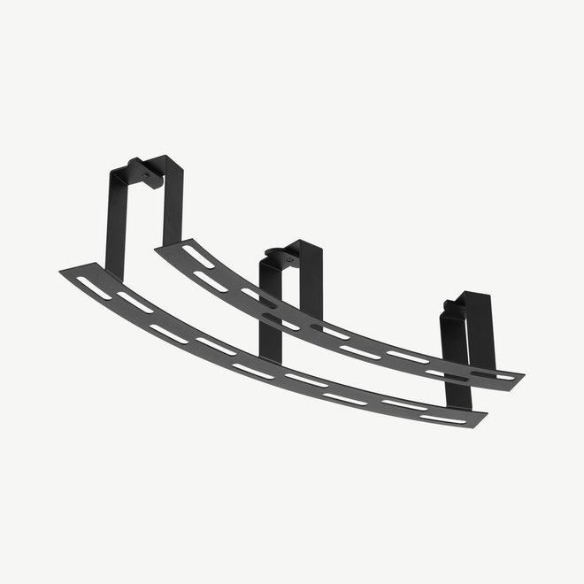 CLIXX CURVE magnetische track accessoires  - recessed kit