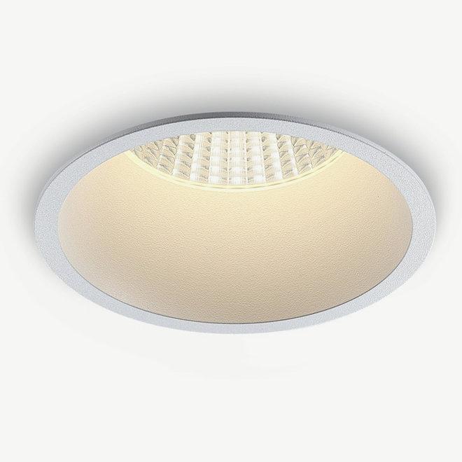 LED recessed spot COB 12 W black