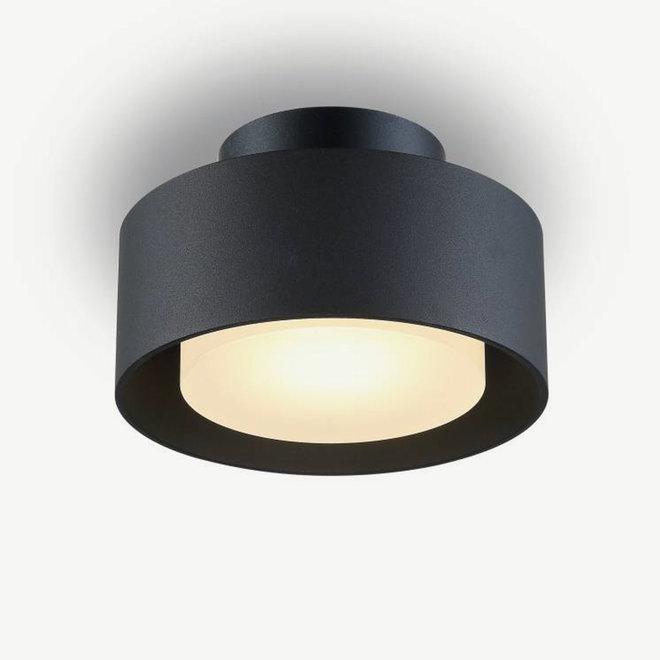 LED ceiling lamp DISC ø148mm black