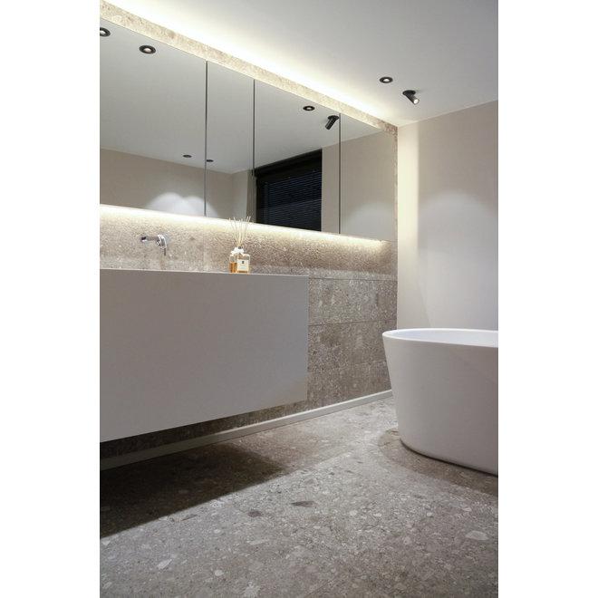 Uitschuifbare inbouw LED spot PEEK - wit