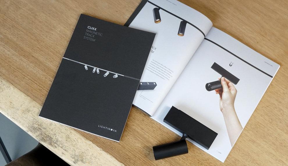 NIEUW! Onze CLIXX magnetisch track systeem brochure is verkrijgbaar.