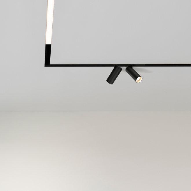 CLIXX magnetisch rail verlichtingssysteem - LINE08 LED module  - zwart