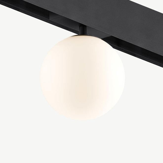 CLIXX SLIM  magnetic track light system - GLOBE LED module - black