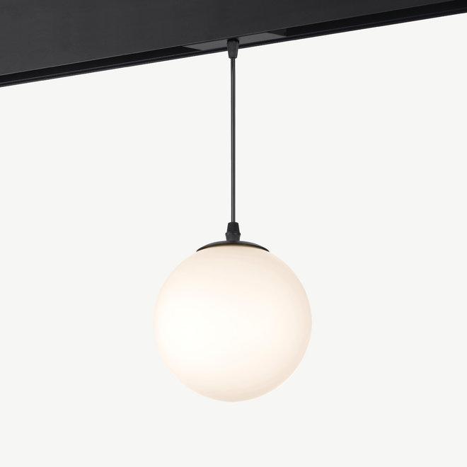 CLIXX SLIM magnetisch rail verlichtingssysteem - hanglamp GLOBE LED module - zwart