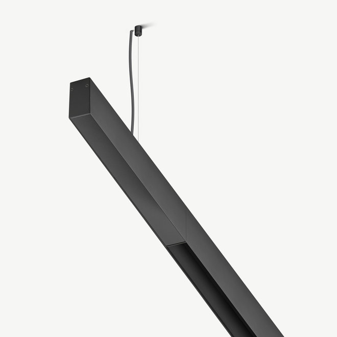 CLIXX SLIM magnetic track light system - accessories surface/suspended driverbox - black