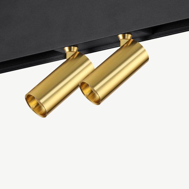 CLIXX SLIM magnetisch rail verlichtingssysteem - SPOT35D LED module  - goud