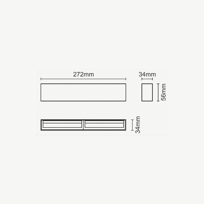 CLIXX magnetisch rail verlichtingssysteem - WASH27LED module  - wit