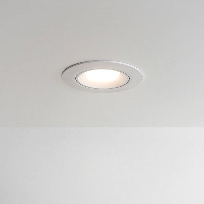 Recessed LED spot FLEXX tiltable round - white