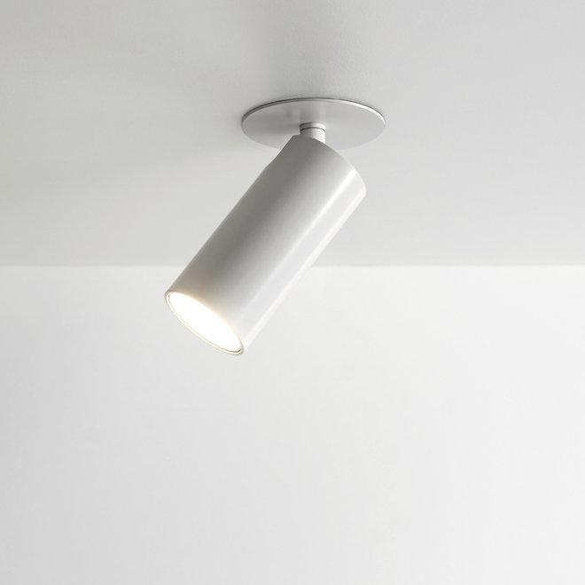 Inbouw mini LED spot SPOT30 kantelbaar - wit
