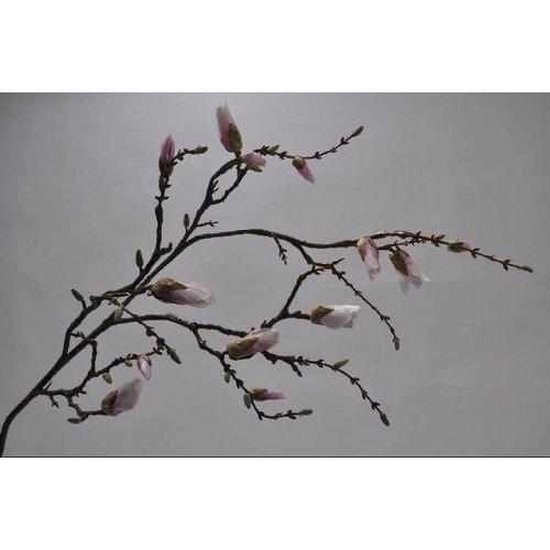 Magnolia branch pink 125 cm