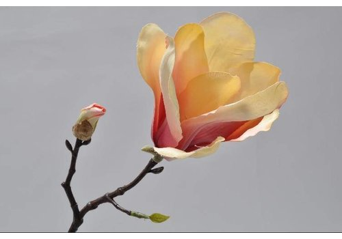 Fine Asianliving Magnolia branch  yellow 33 cm