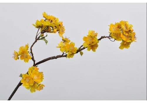 Fine Asianliving Fine Asianliving Blossom branch yellow 74 cm