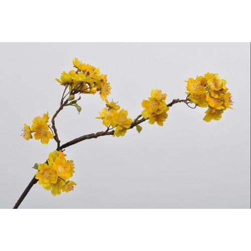 Fine Asianliving Blossom branch yellow 74 cm