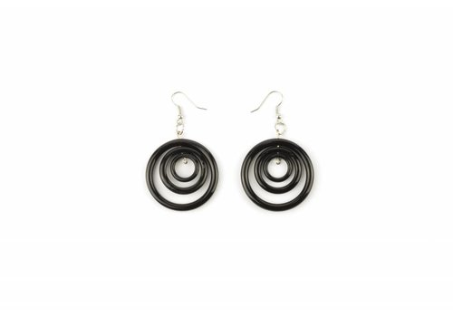 Fine Asianliving Vietnamese Ox-bone Earrings