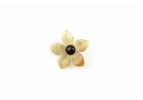 Fine Asianliving Broche Hoorn Flower