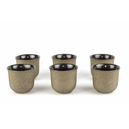 Vietnamese cast iron teacup