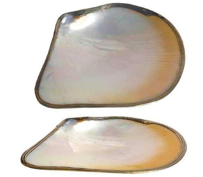 Vietnamese Oyster Shell Mother of Pearl Nacre Plate