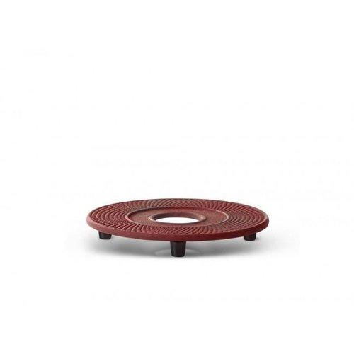Cast iron red coaster Xilin